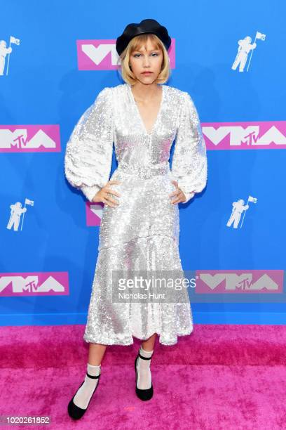 Grace VanderWaal attends the 2018 MTV Video Music Awards at Radio City Music Hall on August 20 2018 in New York City