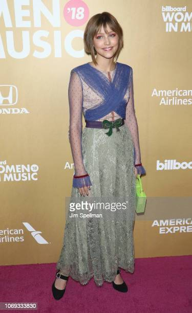 Grace VanderWaal attends the Billboard's 13th Annual Women in Music event at Pier 36 on December 6 2018 in New York City