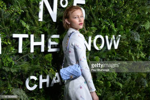 Grace VanderWaal attends the Chanel Party to celebrate the debut Of No. 5 In The Snow on December 10, 2019 at The Standard, High Line in New York...