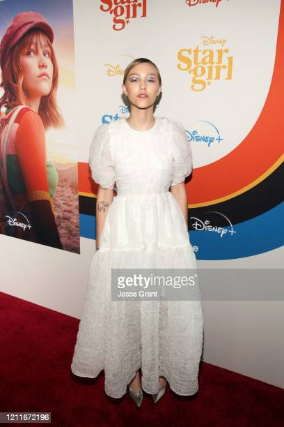 Grace VanderWaal attends the Premiere of Disney's STARGIRL at El Capitan Theatre on March 10, 2020 in Los Angeles, California.