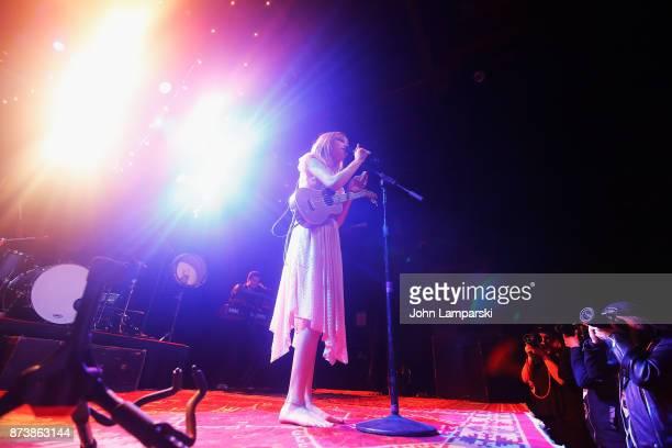 Grace VanderWaal in concert in New York City at Irving Plaza on November 13 2017 in New York City