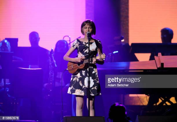 Grace VanderWaal performs at the 2017 Starkey Hearing Foundation So the World May Hear Awards Gala at the Saint Paul RiverCentre on July 16 2017 in...