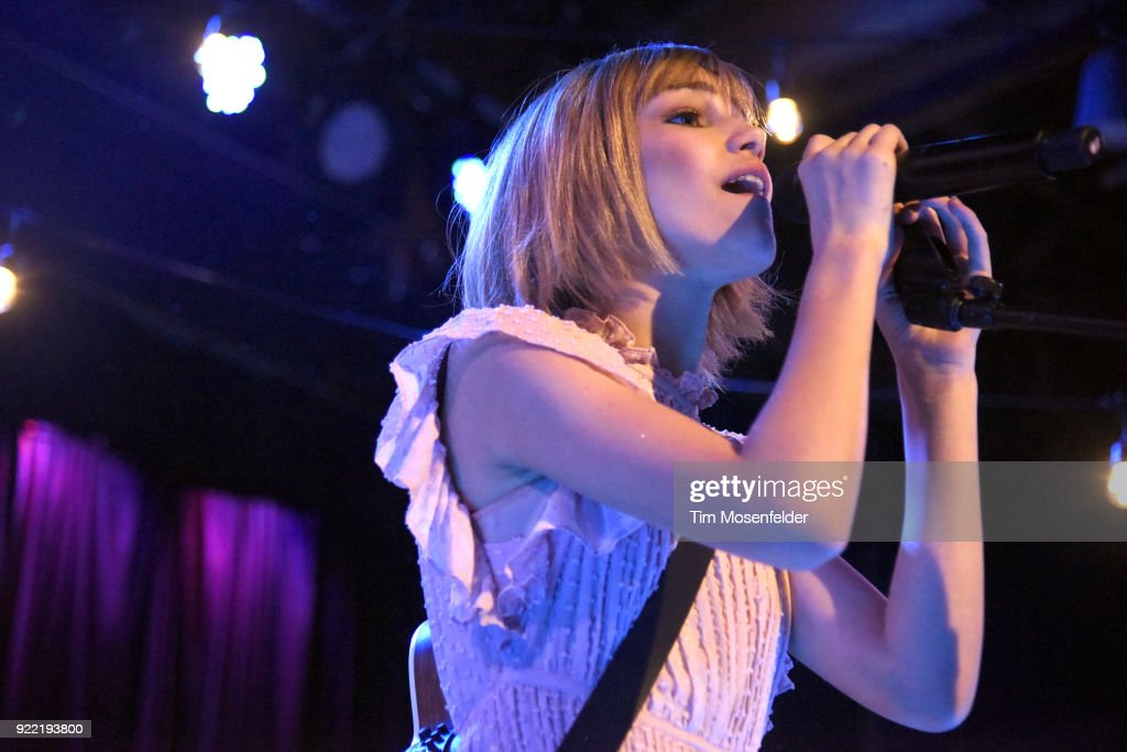 Grace Vanderwaal performs during her 'Just the Beginning Tour' at Slim's on February 20, 2018 in San Francisco, California.