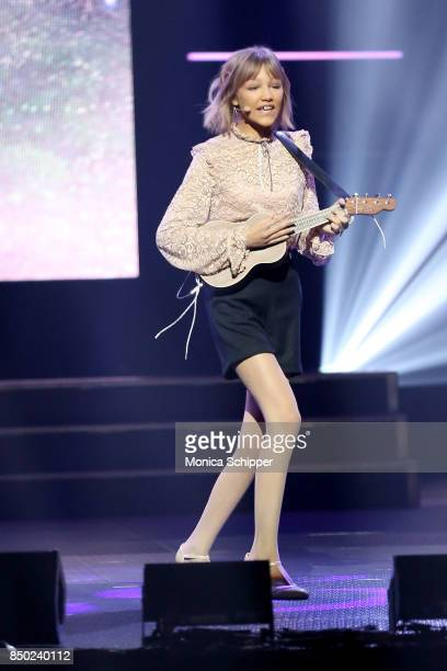 Grace Vanderwaal performs onstage at WE Day UN at The Theater at Madison Square Garden on September 20 2017 in New York City