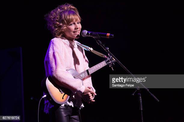 Grace Vanderwaal performs onstage during the 6th Annual Home For The Holidays Concert at Beacon Theatre on December 3 2016 in New York City
