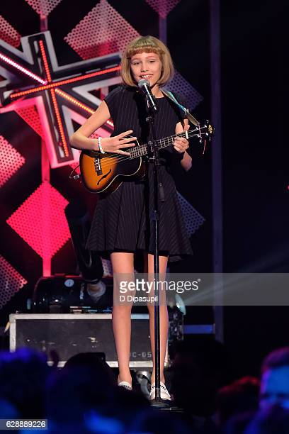 Grace VanderWaal performs onstage during Z100's Jingle Ball 2016 at Madison Square Garden on December 9 2016 in New York City