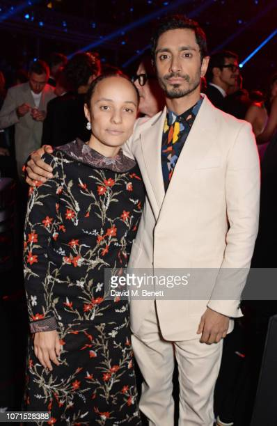 Grace Wales Bonner and Riz Ahmed attend The Fashion Awards 2018 in partnership with Swarovski after party at the Royal Albert Hall on December 10...