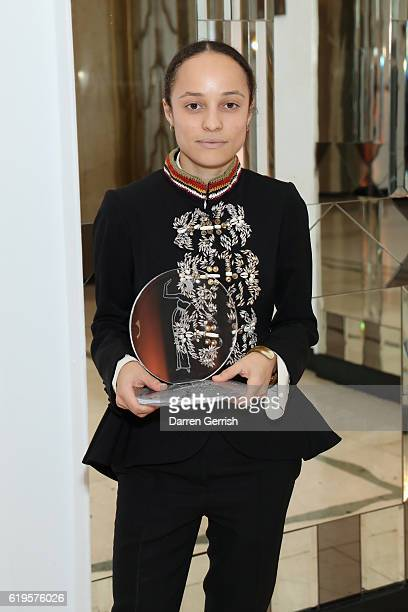 Grace Wales Bonner attends Audemars Piguet Sponsor Of The Harper's Bazarre Women Of The Year Awards 2016 at Claridges Hotel on October 31 2016 in...