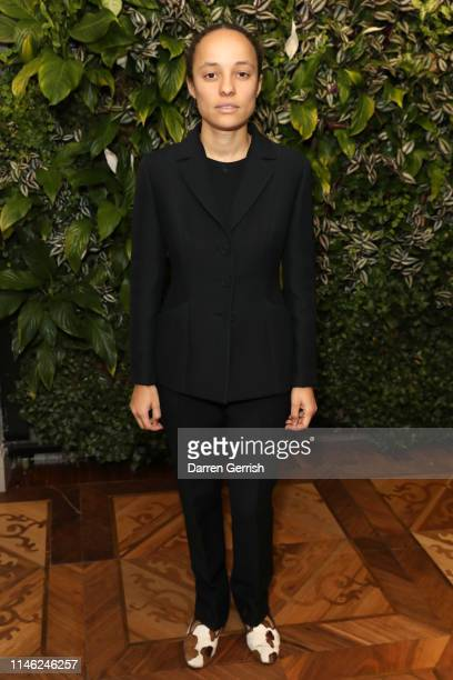 Grace Wales Bonner attends the BFC/Vogue Designer Fashion Fund announcement lunch on May 01 2019 in London United Kingdom