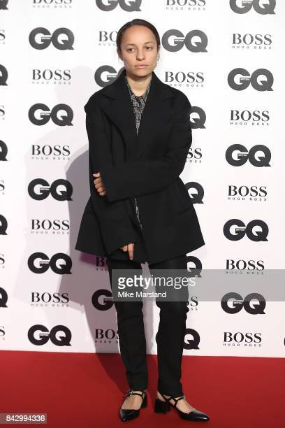 Grace Wales Bonner attends the GQ Men Of The Year Awards at Tate Modern on September 5 2017 in London England