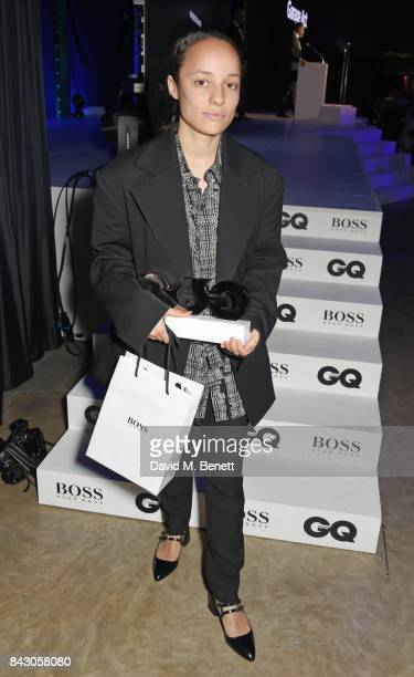 Grace Wales Bonner winner of the Breakthrough Designer of the Year award attends the GQ Men Of The Year Awards at the Tate Modern on September 5 2017...