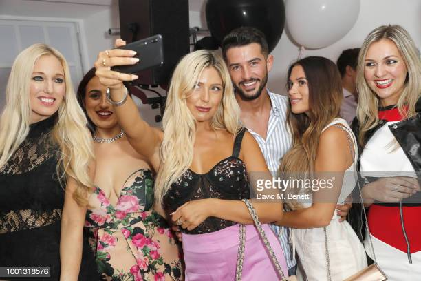 Ashley James attends Huawei's 'A Phone' BreakUp Party on July 18 2018 in London England