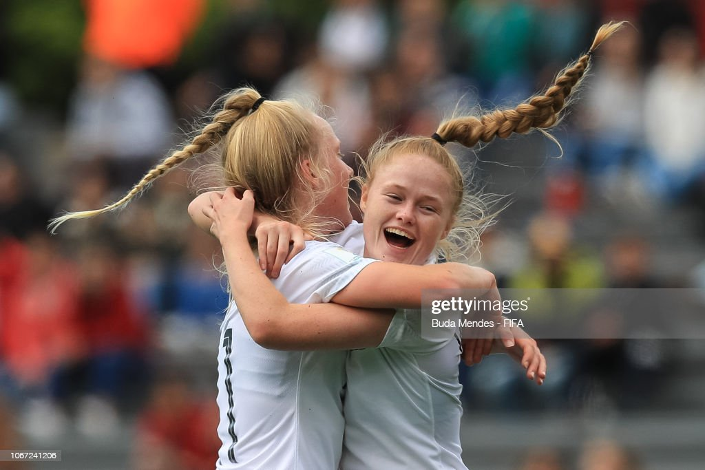 New Zealand v Canada - FIFA U-17 Women's World Cup Uruguay 2018 3rd Place : News Photo