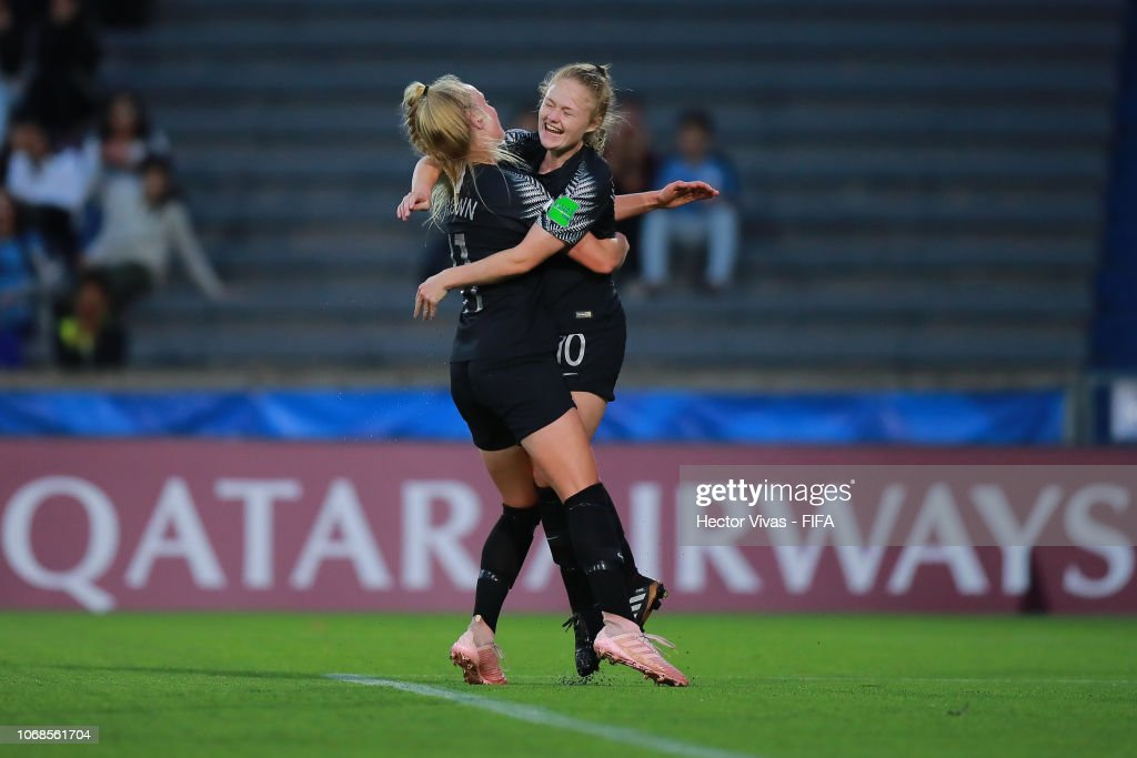 URY: Uruguay v New Zealand - FIFA U-17 Women's World Cup Uruguay 2018