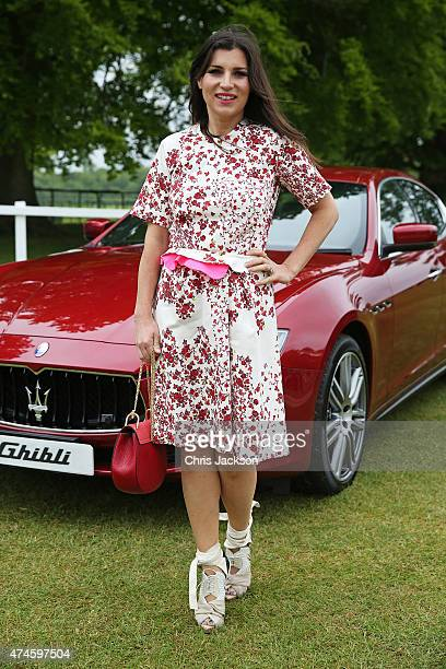 Grace Woodward at the Maserati Jerudong Park Trophy at Cirencester Park Polo Club on May 24 2015 in Cirencester England