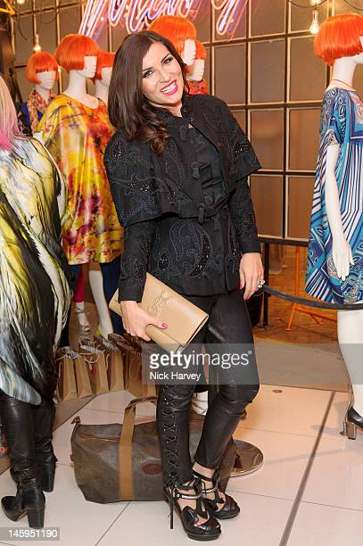Grace Woodward attends the launch of Advanced Style hosted by Mary Portas and Ari Seth Cohen at Mary's Shop House of Fraser Oxford Street on June 7...