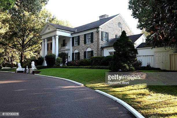 Graceland home of the late Elvis Presley in Memphis Tennessee on October 3 2016