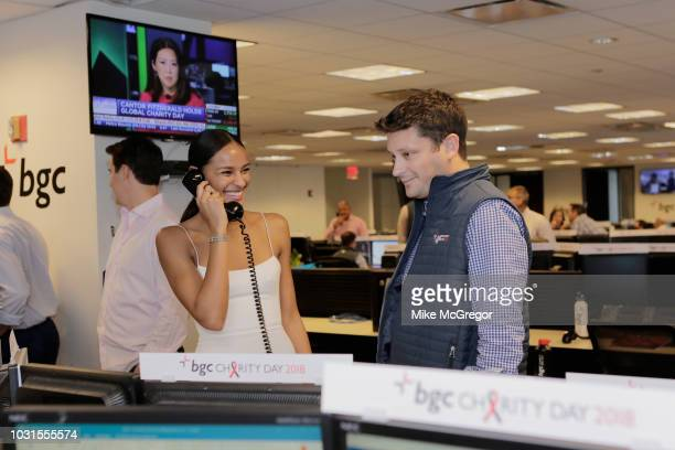 Gracie Carvalho attends Annual Charity Day hosted by Cantor Fitzgerald BGC and GFI at BGC Partners INC on September 11 2018 in New York City