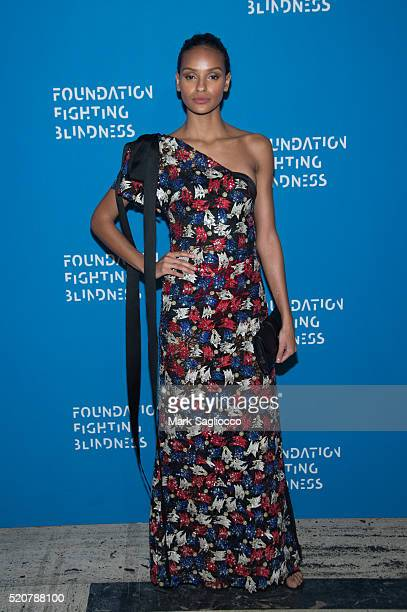 Gracie Carvalho attends the 2016 Foundation Fighting Blindness World Gala at Cipriani Downtown on April 12 2016 in New York City