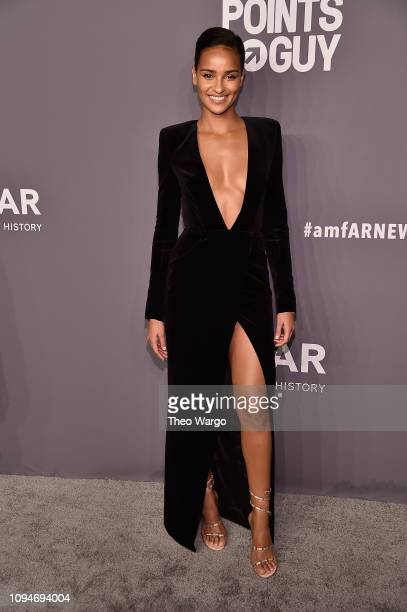 Gracie Carvalho attends the amfAR New York Gala 2019 at Cipriani Wall Street on February 6 2019 in New York City