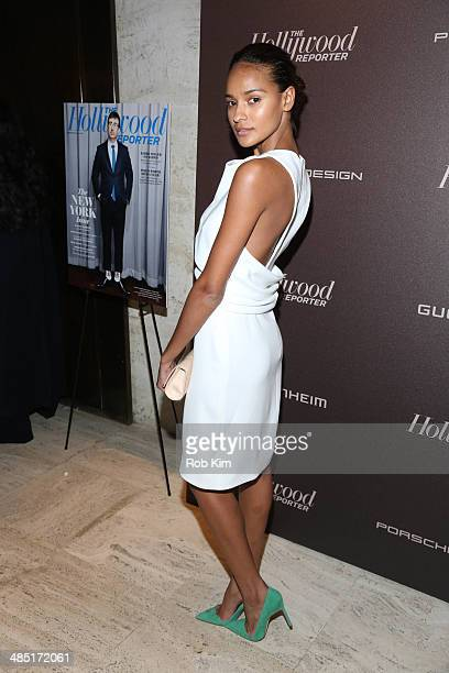 Gracie Carvalho attends The Hollywood Reporter 35 Most Powerful People In Media Celebration at The Four Seasons Restaurant on April 16 2014 in New...