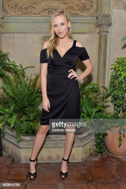Gracie Dzienny attends Vanity Fair And Focus Features Celebrate The Film 'Phantom Thread' with Paul Thomas Anderson at the Chateau Marmont on January...