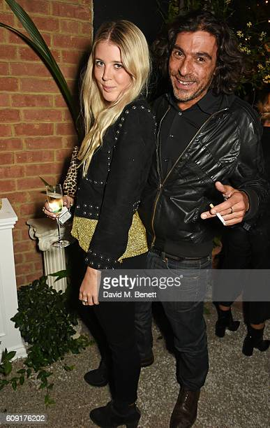 Gracie Egan and Derek Santini attend the launch party hosted by Christopher Bailey and Jefferson Hack to celebrate the Burberry and Dazed cover...