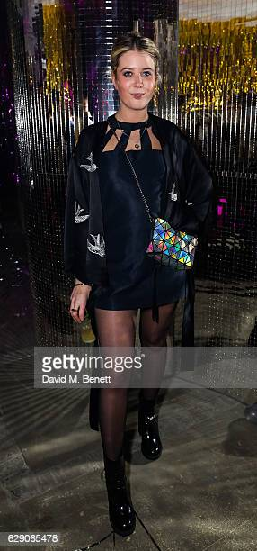 Gracie Egan attends India Rose James' 25th birthday party on December 10 2016 in London England