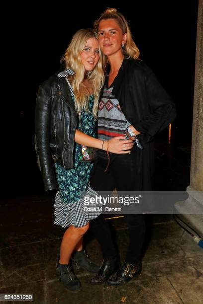 Gracie Egan attends Krug Festival 'Into The Wild' at The Grange Hampshire on July 29 2017 in Northington United Kingdom