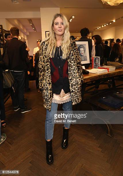 Gracie Egan attends the John Varvatos x Oh So Pretty Punk In Print Opening Night on October 4 2016 in London England