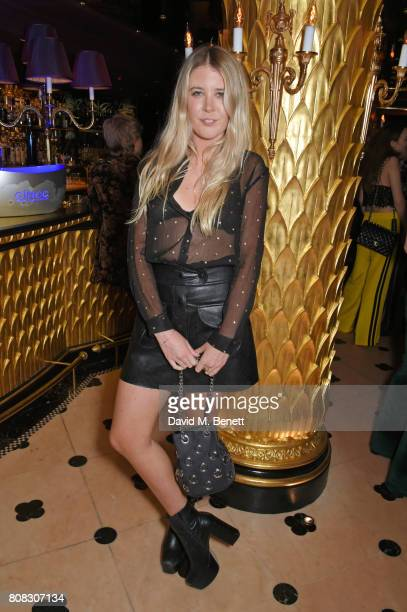 Gracie Egan attends the Rockins party to celebrate the Rockins Selfridges PopUp Shop at Park Chinois supported by Ciroc on July 4 2017 in London...