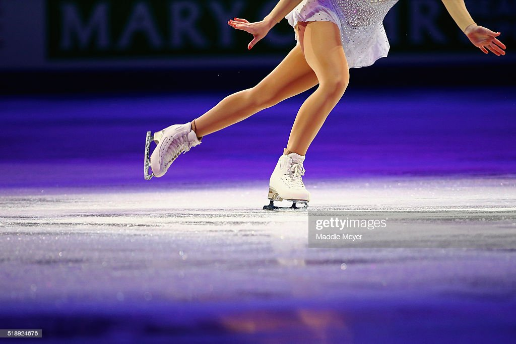 Gracie Gold of the United States performs during the Exhibition of Champions on Day 7 of the ISU World Figure Skating Championships 2016 at TD Garden on April 3, 2016 in Boston, Massachusetts.