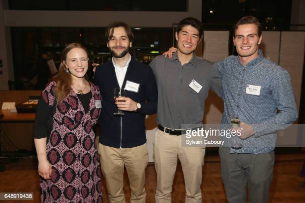 Gracie Nash Nils Becker Dylan Adler and Ryan Tutton attend NYU Steinhardt Music and Performing Arts Presents Songwriters Hall of Fame Master Sessions...