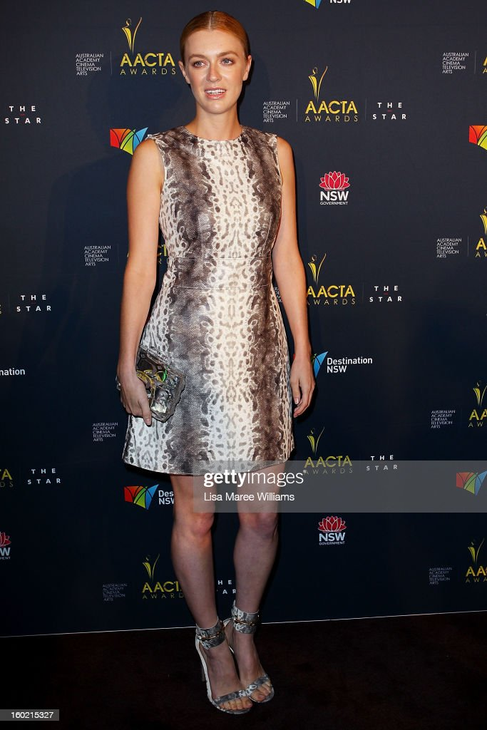Gracie Otto attends the 2nd Annual AACTA Awards Luncheon at The Star on January 28, 2013 in Sydney, Australia.