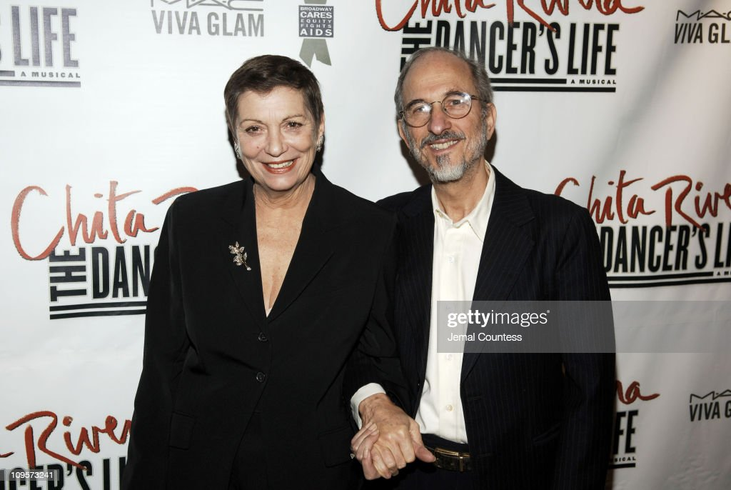 Graciela Daniele and Jules Fisher during 'Chita Rivera: The Dancer's Life' Broadway Opening Night - After Party at The Copacabana in New York City, New York, United States.