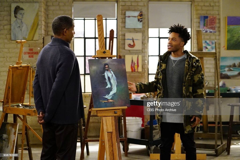 'Grades of Wrath' -- Coverage of the CBS series SUPERIOR DONUTS, scheduled to air on the CBS Television Network. Pictured L-R: Tim Russ as Professor Mills and Jermaine Fowler as Franco