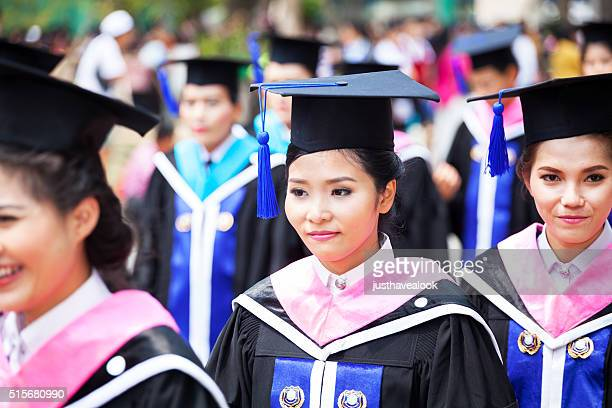 Graduate female thai students