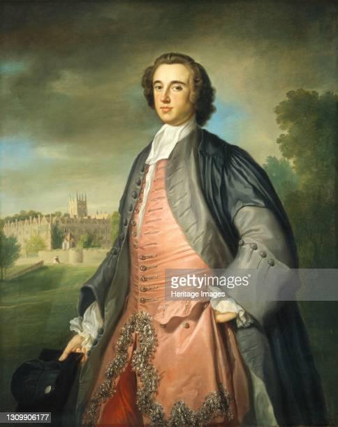 Graduate of Merton College, Oxford, circa 1754/1755. Attributed to George Knapton. Artist George Knapton. .