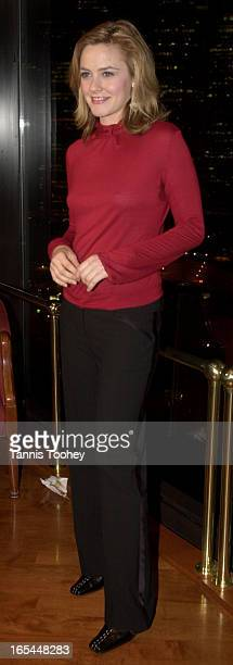 Jan 272002Alicia Silverstone poses for the camera at the opening night party for The Graduate at Toula restaurantatop of the Harbour Castle Hilton in...