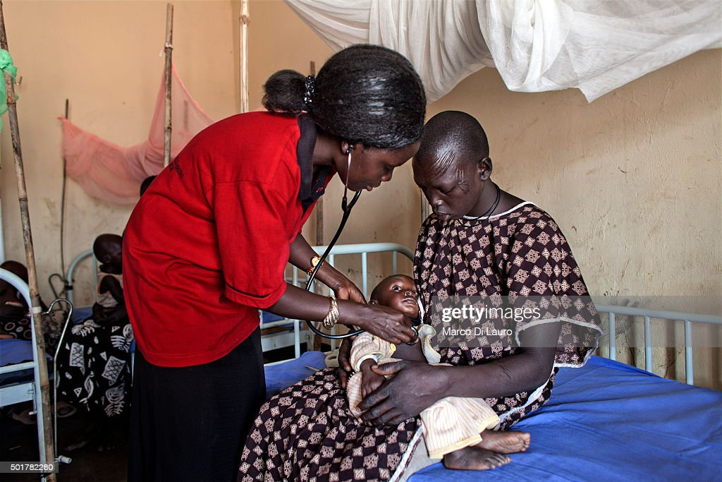 Amref in Southern Sudan : News Photo