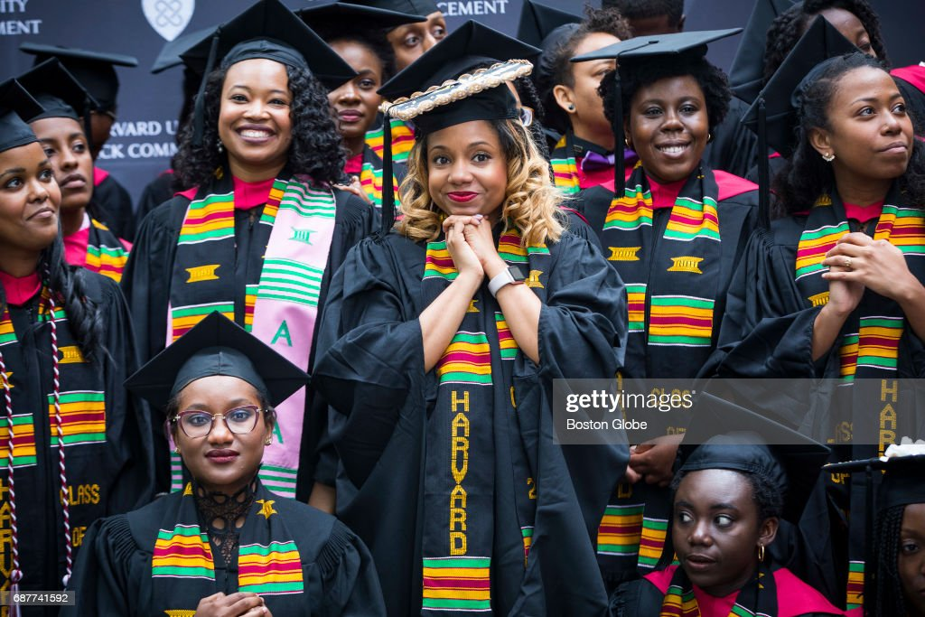 Harvard University Black Commencement : Nieuwsfoto's