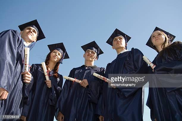 Absolventen, ein Blick in die Zukunft