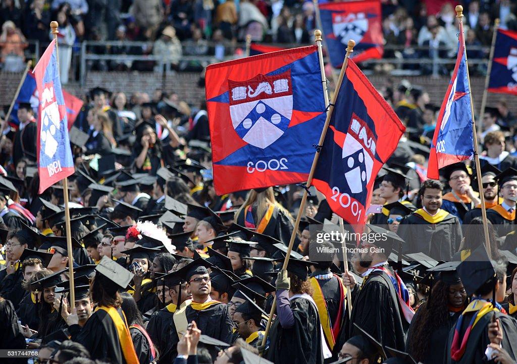Lin Manuel Miranda Delivers University Of Pennsylvania Commencement Keynote Address : News Photo