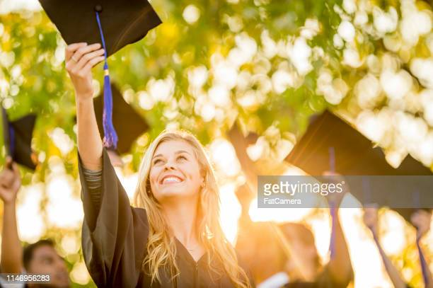 graduating class - alumni stock pictures, royalty-free photos & images