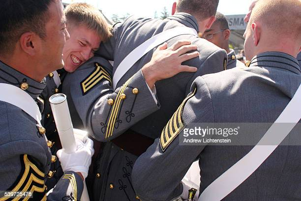 Graduating members of the West Point class of 2005 celebrate after finishing four years of rigourous physical and academic training Within a year...
