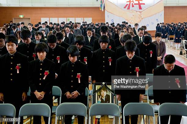 Graduation ceremony of Aoba Junior High School 12 students from the school were killed by Tsunami One of the students Rei Matsukawa was supposed to...