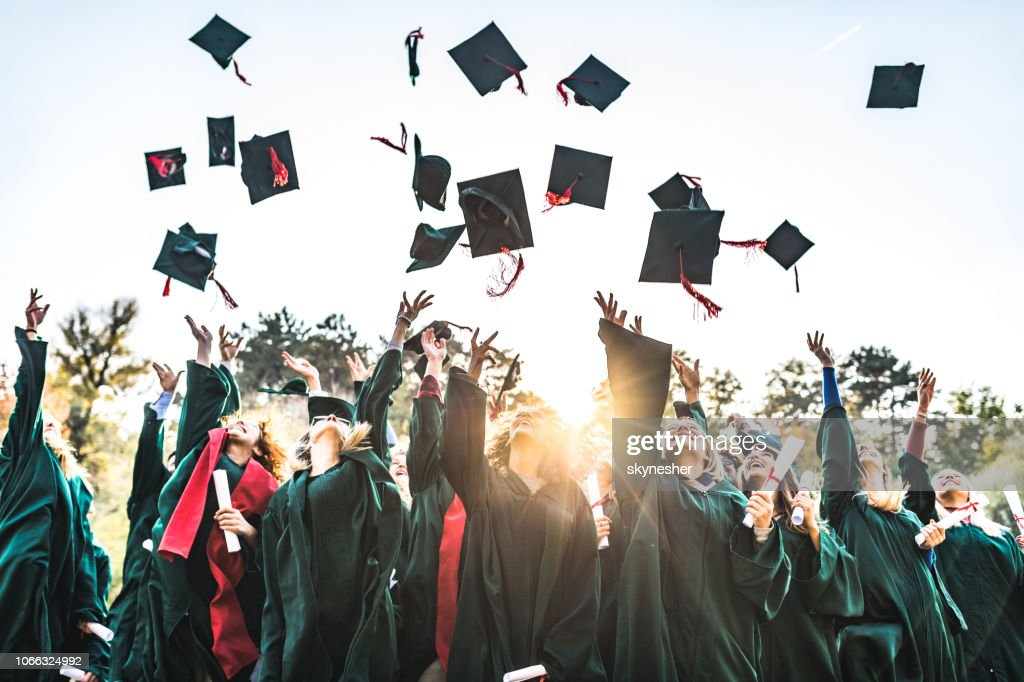 Graduation day! : Stock Photo