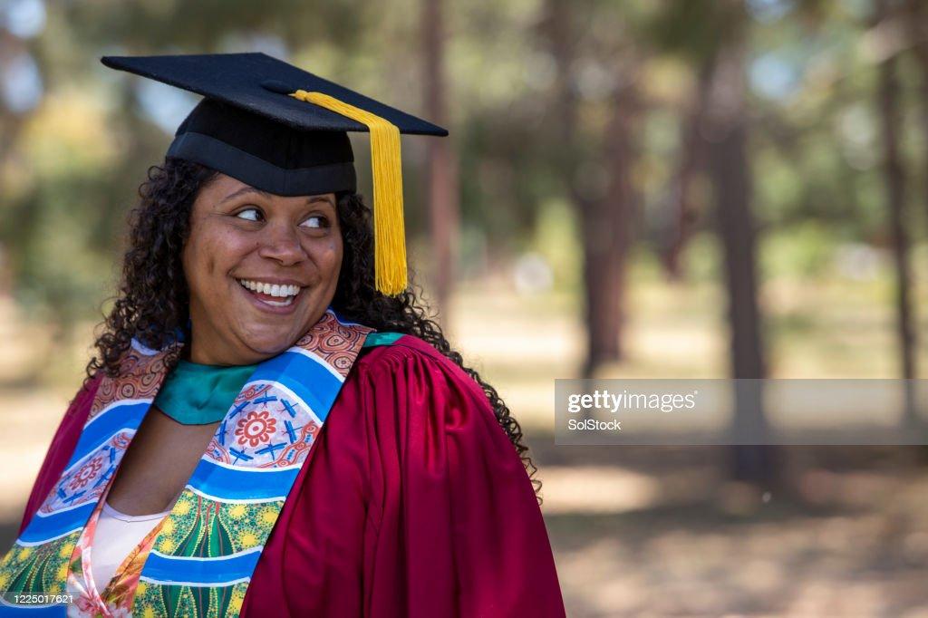 Graduation Day : Stock Photo