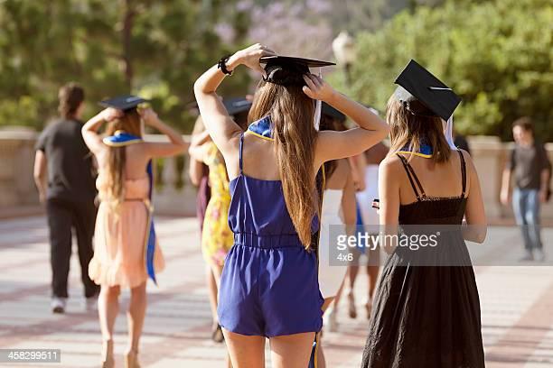 dia da formatura - universidade da califórnia los angeles imagens e fotografias de stock