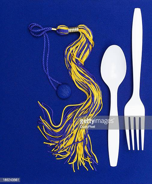 graduation dinner - tassel stock pictures, royalty-free photos & images